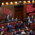 Il voto in aula alla Camera dei Deputati