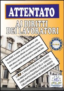 MANIFESTO CORTE COSTITUZIONALE